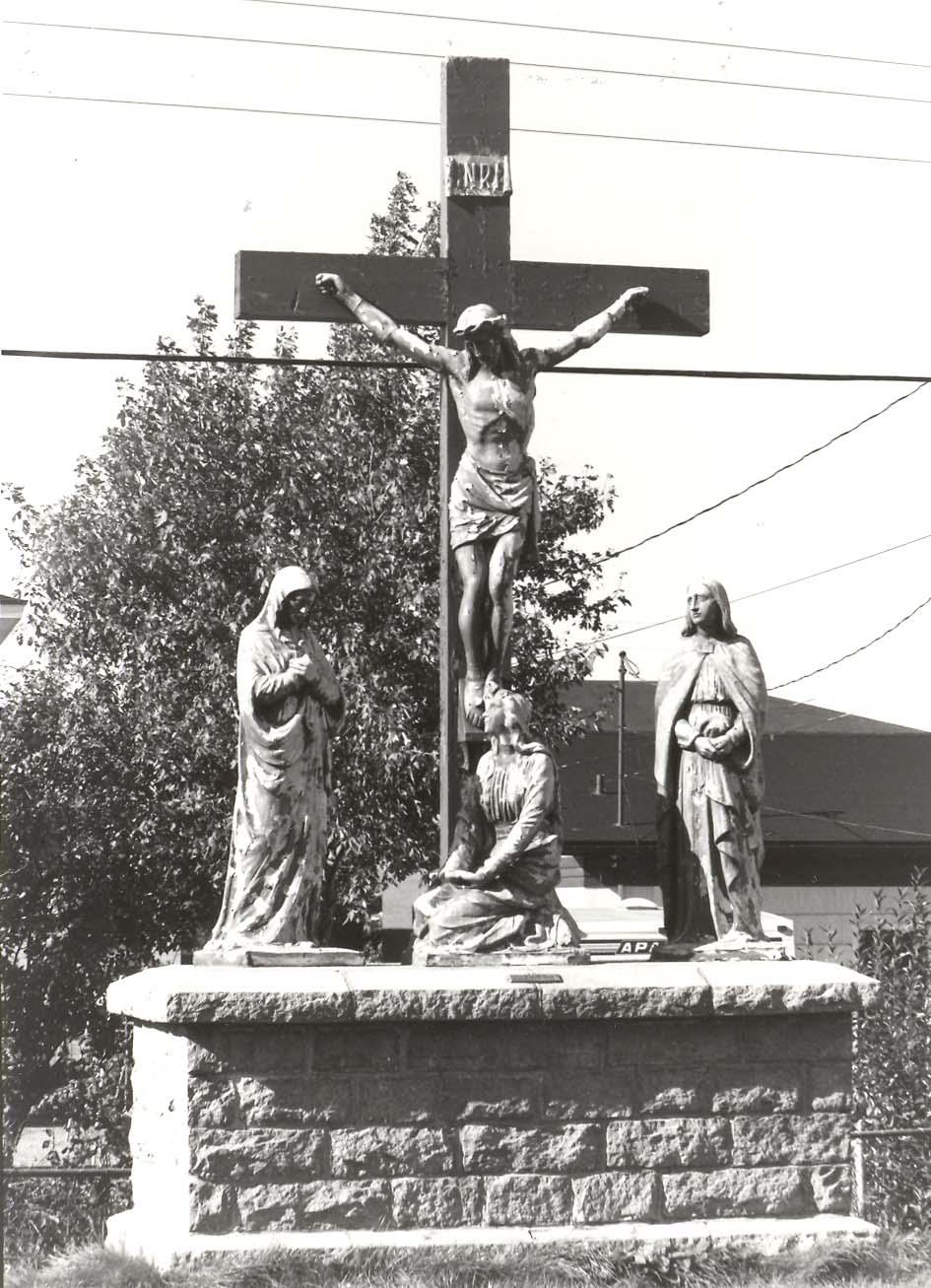 Calvaire, cimetière de Lauzon