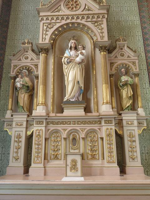 Autel de la Sainte Vierge