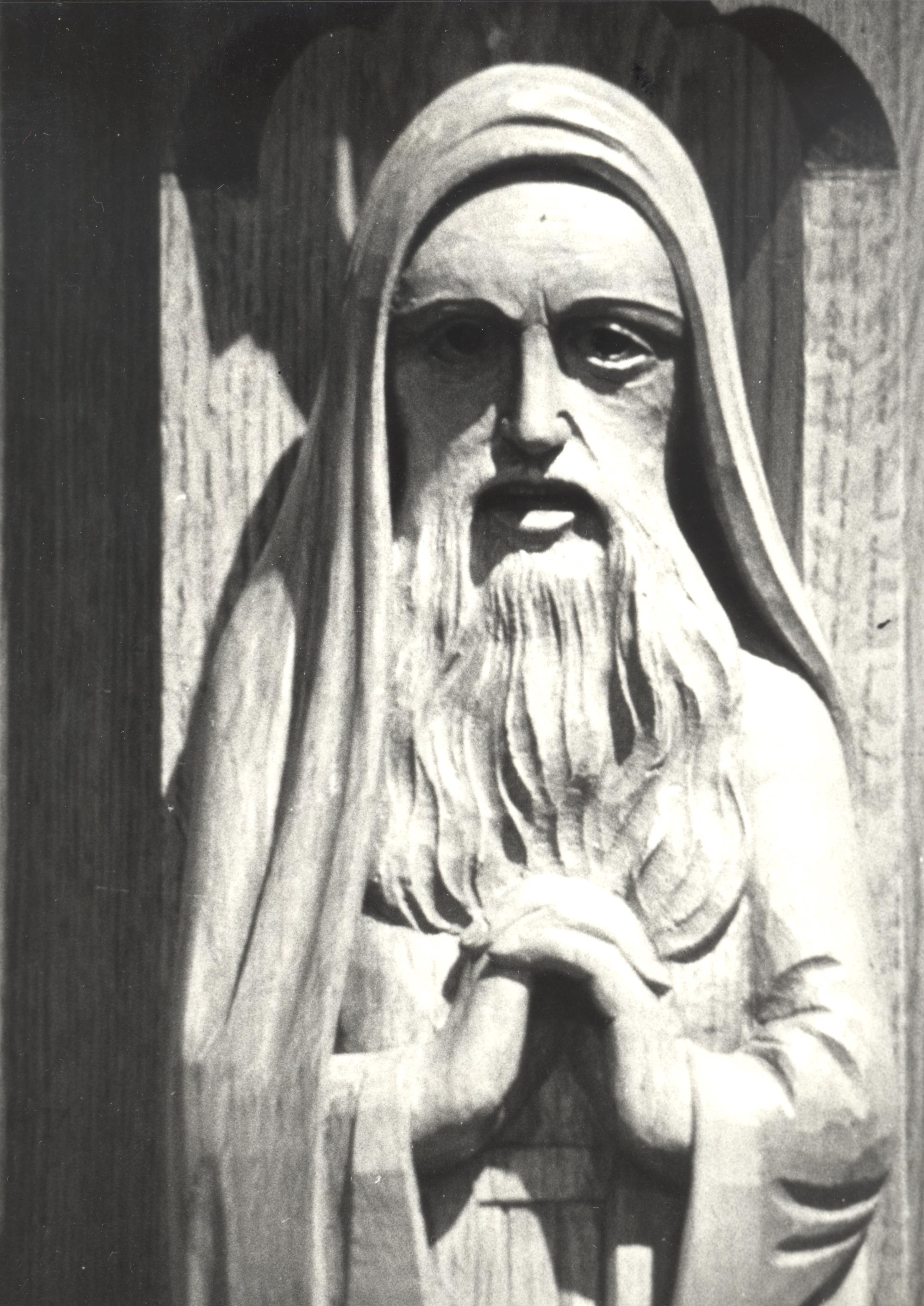 Détail du prophète Jérémie
