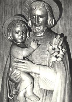 Détail de Saint-Joseph et l'Enfant
