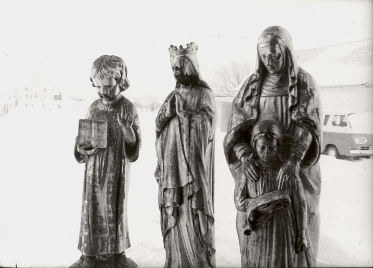 Enfant Jésus, Sainte-Anne et Vierge