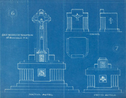Maître-autel, chaire et petit autel