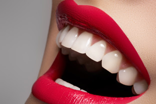 Lipstick shades for whiter teeth