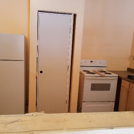 Kitchen of Fellowship Hall Addition