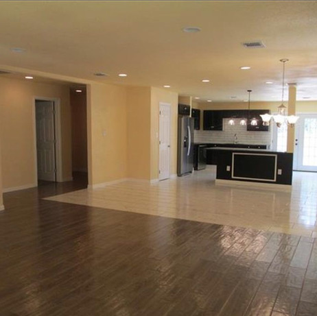 New Construction on Elgin-Living Room