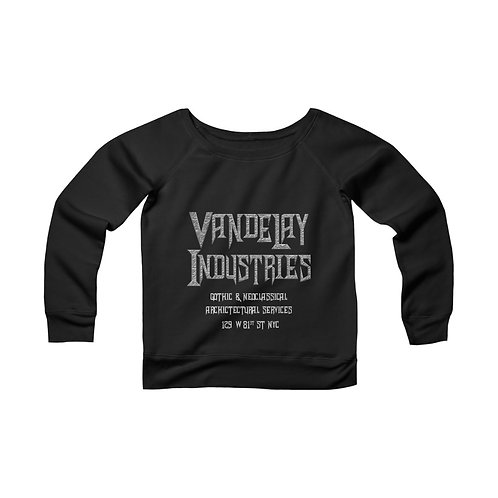 Vandelay Industries: Architecture [2] Women's Wide Neck Sweatshirt