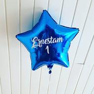 Folija baloni dažādos toņos ar jūsu uzrakstu
