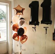 Balonu komplekts ar cipariem