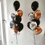 Eleganti balonu pušķi
