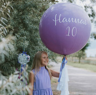 Milzu balons, personalizēts, 90 cm diametrs