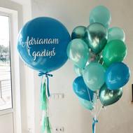 Lielais balonu komplekts