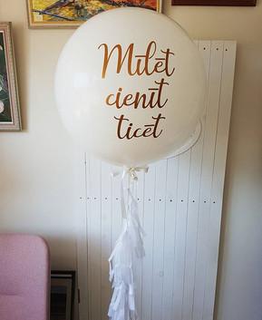 Konkurss! _Dāvināsim milzu balonu ar kāz