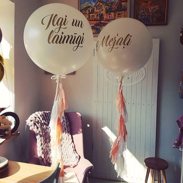 Hēlija baloni kāzām