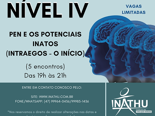 PDN - Nível IV - Presencial ou On-line (AO VIVO)