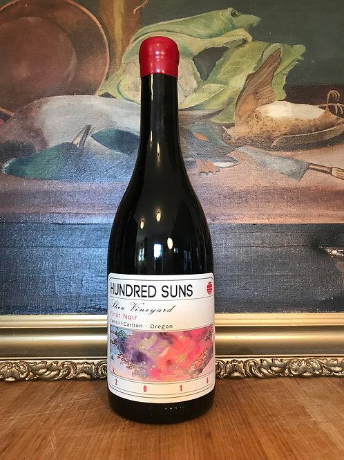 2016 Hundred Suns Shea Vineyard Pinot Noir