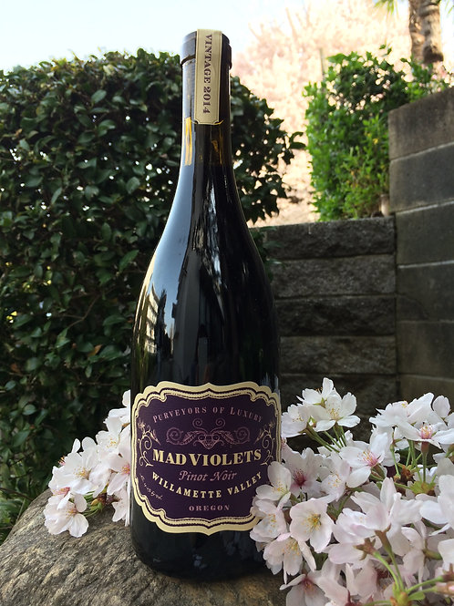 2014 Mad Violets Willamette Valley Pinot Noir