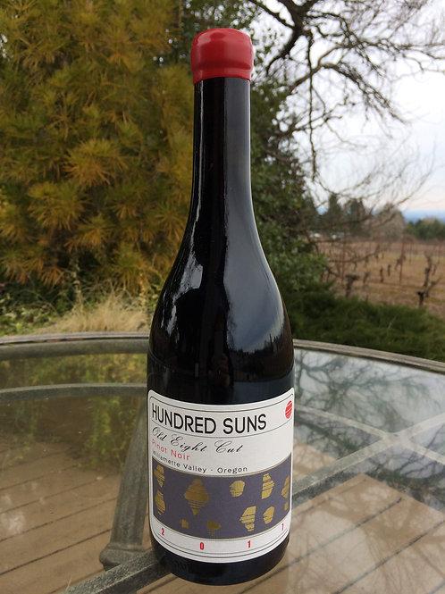 2017 Hundred Suns Willamette Valley Pinot Noir Old Eight Cut