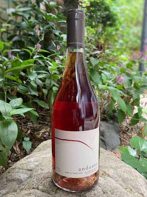 2018 Andante Willamette Valley Rose of Pinot Noir