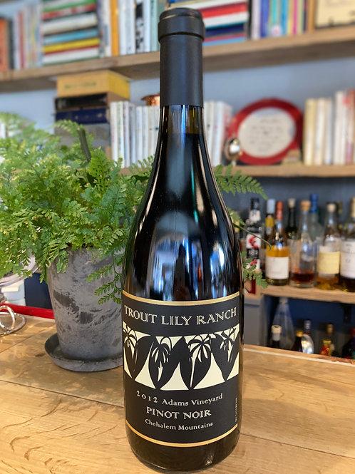 2012 Trout Lily Ranch Chehalem Mountains Pinot Noir