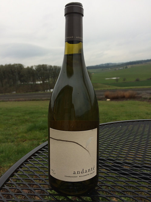 2015 Andante Willamette Valley Chardonnay