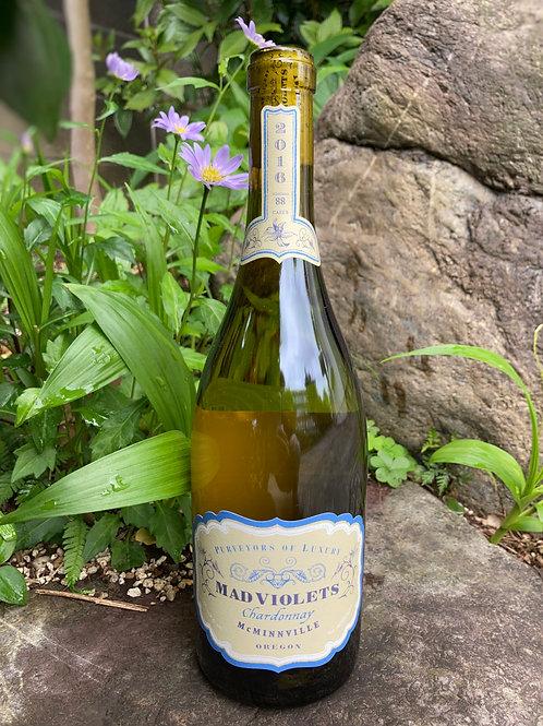 2016 Mad Violets McMinnville Oregon Chardonnay