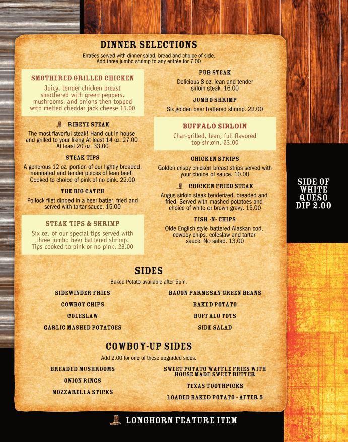New Menu-Dinner Selections.JPG