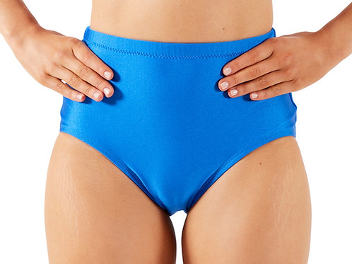 HIGHWAISTED Briefs - Shiny Royal - L10+12