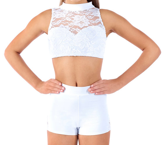 SWEET LACE - White