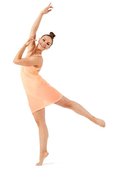 HUMMINGBIRD Dress - Apricot - L6/8