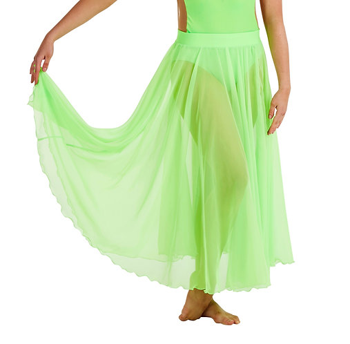 CALI Skirt Junior - Neon Green - 80/85cm