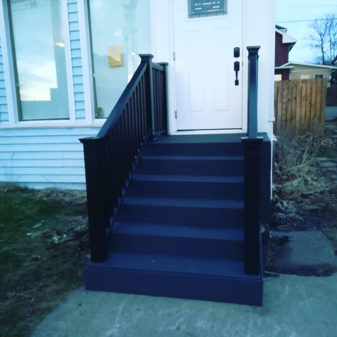 STEPS AND RAILING INSTALL, SAULT STE MAR
