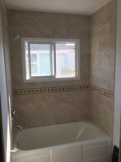CUSTOM TUB AND SURROUND INSTALL, SAULT S