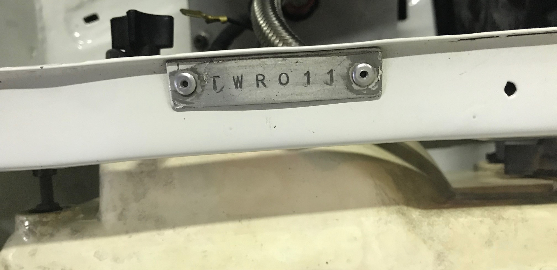 SD1 Chassis tag