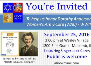 Help us Honor Dorothy Anderson