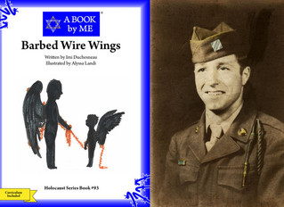 """WWII Veteran John Gualtier Book Titled """"Barbed Wire Wings"""""""