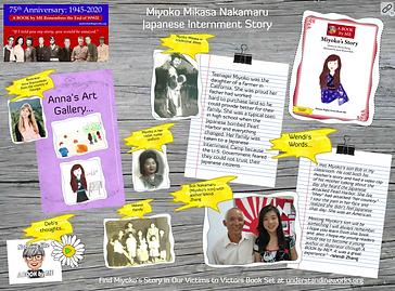 Miyoko Mikasa Nakamaru Japanese Internme