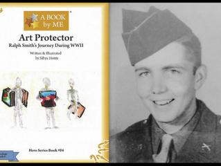 Ralph Smith A WWII Veteran  Art Protector