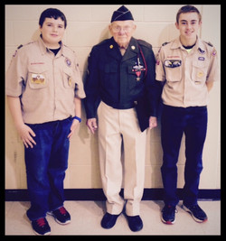 WWII Veteran Floyd Ragsdale