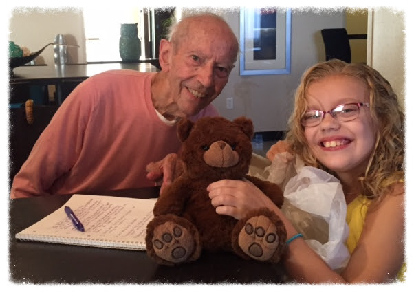 Actor Curt Lowens with author Ava P. Goodson