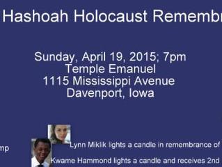 Yom Hashoah Holocaust Remembrance