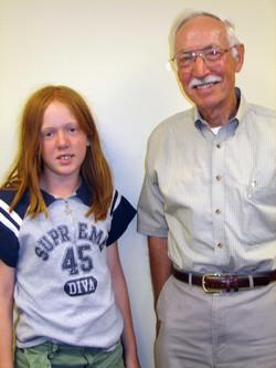Dr. Ralph Troll and Sarah Callahan