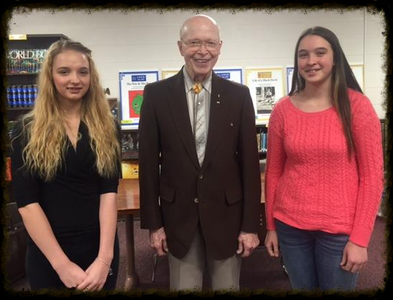 Authors _ Illustrators Elizabeth Johnson and Maddie Rowe with Reed