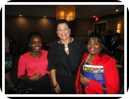 Danielle & Rhonda Lyle  with Miss Debra Lee, CEO  of  Black Entertainment Television