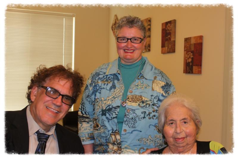 Rabbi Michael Samuel, Deb Bowen, & Ruth Sax