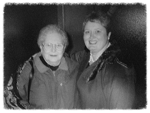 Ida Kramer with Deb Bowen