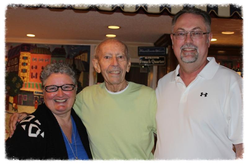 Deb, Curt Lowens & Don Bowen