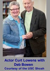 A BOOK by ME Second California Update - Meeting ActorCurt Lowens