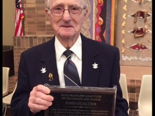 Concentration Camp Liberator Honored at Tri City Jewish Center