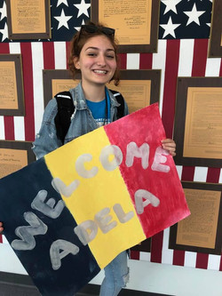 Welcome Adela from Romania Fall 2019