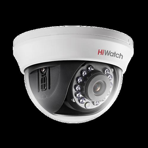 1Мп внутренняя купольная HD-TVI камера с ИК-подсветкой до 20м.